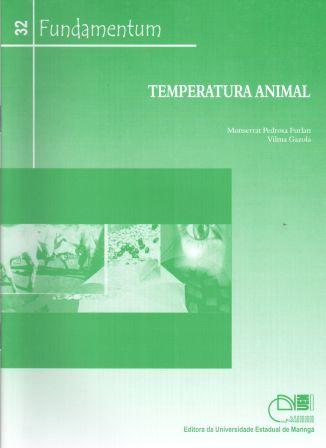 Fundamentum 32 - Temperatura Animal, livro de Monserrat Pedrosa Furlan, Vilma Gazola