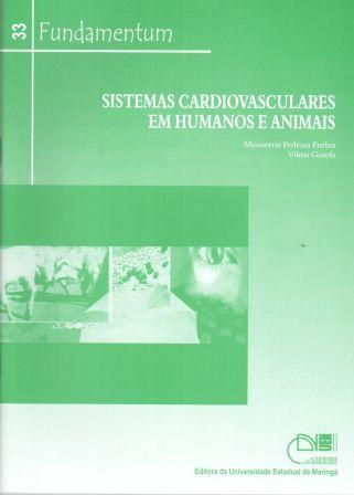 Fundamentum 33 - Sistemas Cardiovasculares em Humanos e Animais, livro de Monserrat Pedrosa Furlan, Vilma Garcia